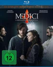 Die Medici Staffel 3 - Lorenzo der Prächtige (Blu-ray), 2 Blu-ray Discs