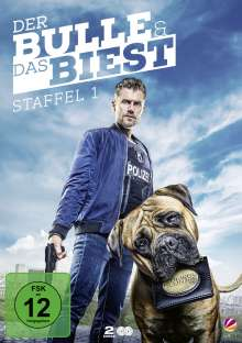 Der Bulle und das Biest Staffel 1, 2 DVDs