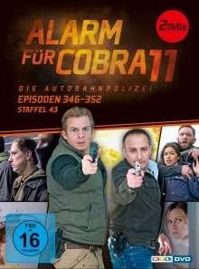 Alarm für Cobra 11 Staffel 43, 2 DVDs