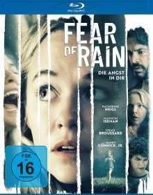 Fear of Rain (Blu-ray), Blu-ray Disc