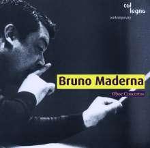 Bruno Maderna (1920-1973): Oboenkonzerte Nr.1-3, CD