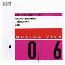 Iannis Xenakis (1922-2001): Anastenaria, CD