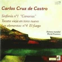 """Carlos Cruz de Castro (geb. 1941): Symphonie Nr.1 """"Canarias"""", CD"""