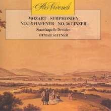 Wolfgang Amadeus Mozart (1756-1791): Symphonien Nr.35 & 36, CD