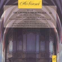 Max Reger (1873-1916): Die großen Orgelwerke Vol.1, CD
