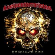 Kneipenterroristen: Schneller Lauter Härter (Limited-Fanbox), 4 CDs und 1 Merchandise