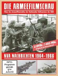 Die Armeefilmschau - NVA Nachrichten 1964-1966, 2 DVDs