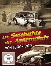Die Geschichte des Automobils in vier Teilen von 1800 bis 1960, DVD
