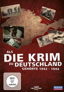 Als die Krimi zu Deutschland gehörte 1942-1944, DVD