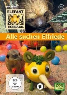 Elefant, Tiger & Co. - Teil 51: Alle suchen Elfriede, 2 DVDs