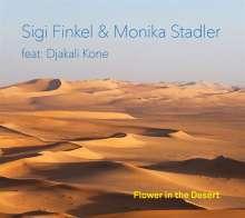 Sigi Finkel & Monika Stadler: Flower In The Desert, CD