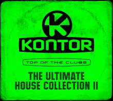 Kontor Top Of The Clubs: The Ultimate House Collection II, 3 CDs