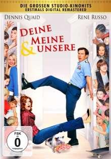 Deine, meine & unsere (2005), DVD