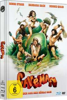 Caveman (Blu-ray & DVD im Mediabook), 1 Blu-ray Disc und 1 DVD