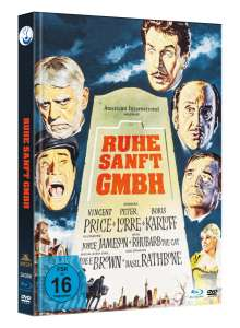 Ruhe Sanft GmbH (Blu-ray & DVD im Mediabook), 1 Blu-ray Disc und 1 DVD
