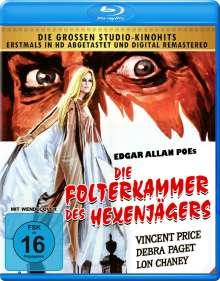 Die Folterkammer des Hexenjägers (Blu-ray), Blu-ray Disc