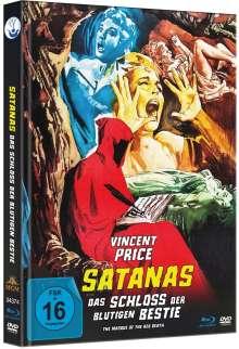 Satanas - Das Schloss der blutigen Bestie (Blu-ray & DVD im Mediabook), 2 Blu-ray Discs