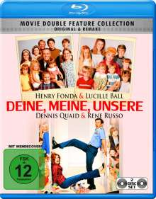 Deine, Meine, Unsere (1968 & 2005) (Blu-ray), 2 Blu-ray Discs
