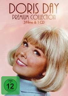 Doris Day Collection  (3 Filme & 1 CD), 3 DVDs und 1 CD