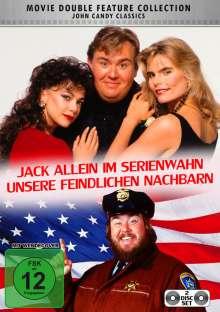 Jack allein im Serienwahn / Unsere feindlichen Nachbarn, 2 DVDs