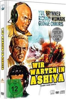 Wir warten in Ashiya (Mediabook), 2 DVDs und 1 CD