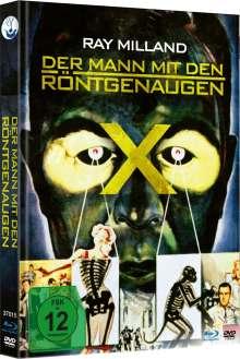 Der Mann mit den Röntgenaugen (Blu-ray & DVD im Mediaook), 1 Blu-ray Disc und 1 DVD