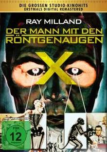 Der Mann mit den Röntgenaugen, DVD