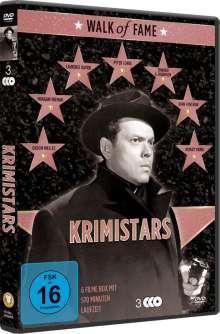 Walk of Fame - Krimistars, 3 DVDs