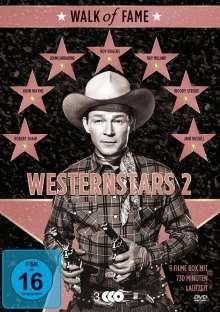 Walk of Fame - Westernstars Vol. 2 (9 Filme auf 3 DVDs), 3 DVDs
