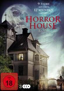 Horror House Box (9 Filme auf 3 DVDs), 3 DVDs