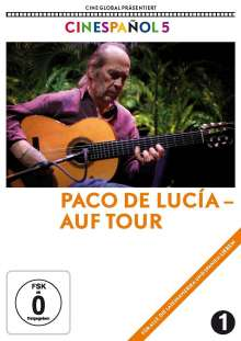 Paco de Lucía - Auf Tour, DVD