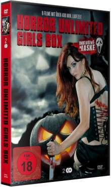 Horror Unlimited Girls Box (6 Filme auf 2 DVDs), 2 DVDs