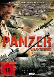 Panzer - Gigantenbox, 4 DVDs
