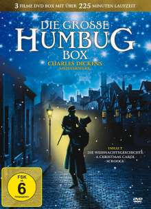 Die grosse Humbug Box, 3 DVDs