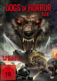 Dogs of Horror Box (6 Filme auf 2 DVDs), 2 DVDs