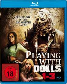 Playing with Dolls 1-3 (Blu-ray), Blu-ray Disc