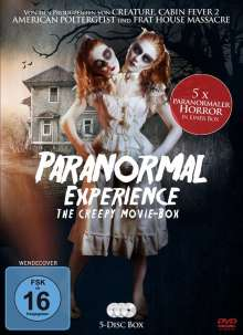 Paranormal Experience - The Creepy Movie-Box, 5 DVDs