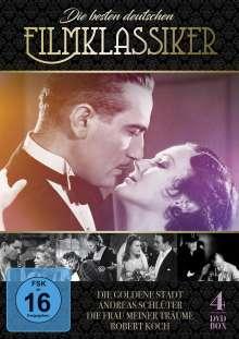 Die besten deutschen Filmklassiker, 4 DVDs