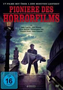 Pioniere des Horrorfilms (17 Filme auf 6 DVDs), 6 DVDs