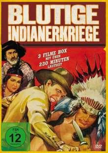 Blutige Indianerkriege (3 Filme), DVD