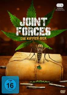 Joint Forces - Die Kiffer-Box, 3 DVDs