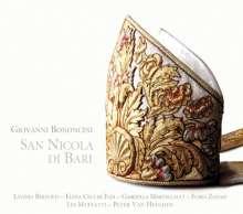 Giovanni Battista Bononcini (1670-1747): San Nicola di Bari, CD