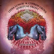 Lydia Lunch & Cypress Grove / Spiritual Front: Twin Horses (Limited Edition) (Blue Vinyl), LP