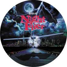 """Bloodsucking Zombies From Outer Space: Night Flier / Rainy Season (Limited-Numbered-Edition) (Picture Disc), Single 10"""""""