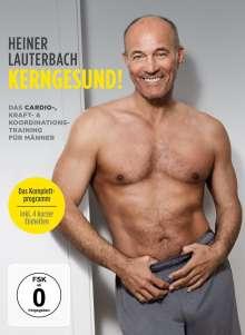 Heiner Lauterbach - Kerngesund!  Das Cardio-, Kraft- & Koordinationstraining für Männer, DVD