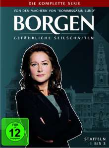 Borgen Staffel 1-3 (Komplette Serie), 11 DVDs