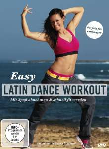 Easy Latin Dance Workout - Mit Spaß abnehmen & schnell fit werden, DVD