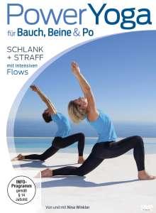 Power Yoga für Bauch, Beine & Po - Schlank und straff mit intensiven Flows, DVD