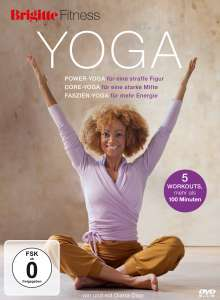 Brigitte - Yoga: Power-Yoga, Core-Yoga, Faszien-Yoga, DVD