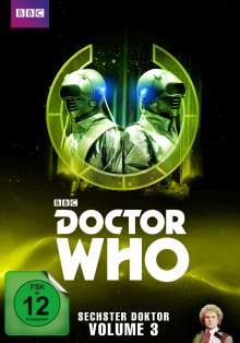 Doctor Who - Sechster Doktor Vol. 3, 5 DVDs